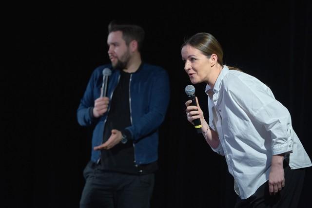 Świecką publiczność rozśmieszali Ewa Błachnio i Grzegorz Dolniak