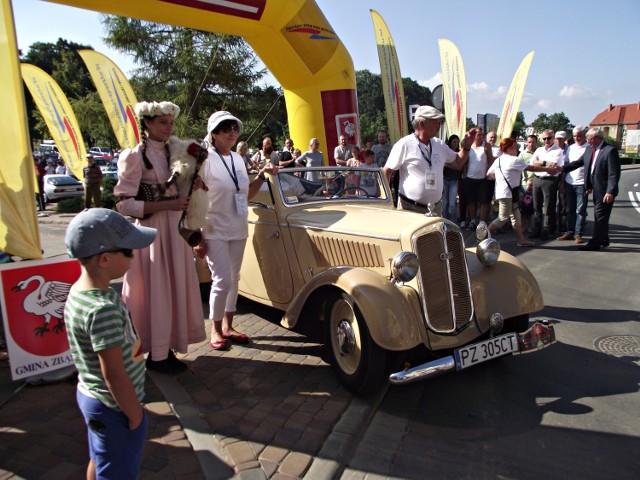IV Rajd Samochodów Zabytkowych Szlakiem Zbąszyńskiego Kozła
