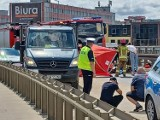 Tragedia we Wrocławiu. Auto wjechało w ekipę sprzątającą. Nie żyje pracownik Alby