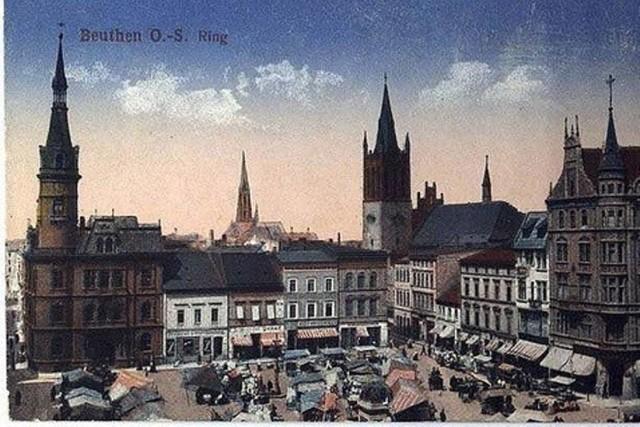 Bytom na starych pocztówkach i zdjęciach. Miasto wyglądało niczym Kraków. Zobacz >>>