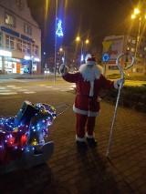 Po Złotowie krążył Święty Mikołaj szukający swoich reniferów
