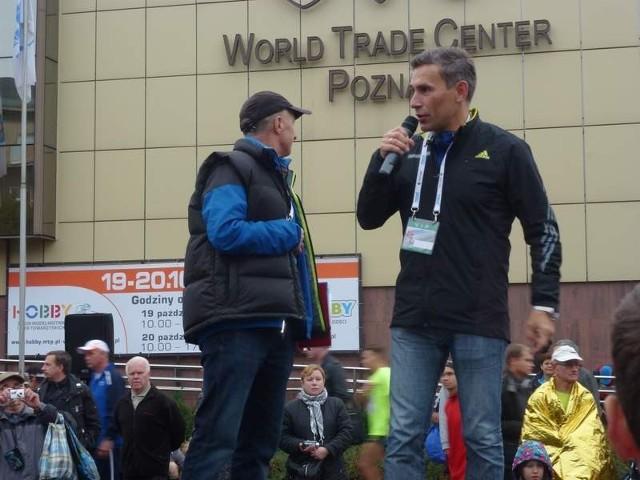 Robert Korzeniowski gościem poznańskiego maratonu