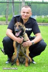 Lara - pies policyjny do spraw specjalnych - pomagała lubuskiej policji w głośnych sprawach. Teraz idzie na zasłużony odpoczynek