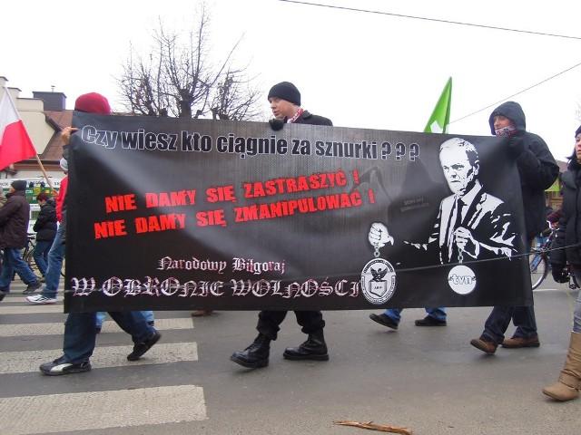Biłgoraj: Marsz w obronie TV TRWAM