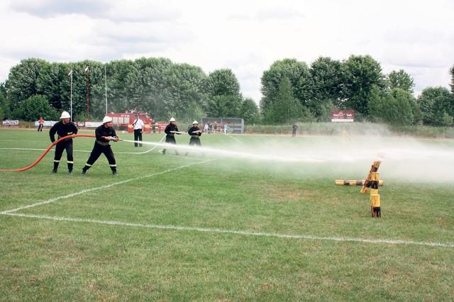 W Brzezinach odbyły się miejsko-gminne zawody sportowo-pożarnicze OSP