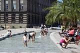 Katowice wprowadzą regulamin korzystania z fontann, w tym ze Sztucznej Rawy na rynku ZDJĘCIA