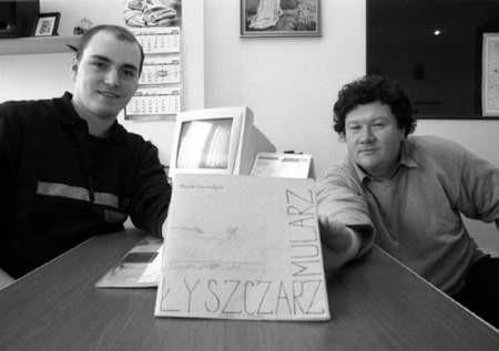 Gustaw Kubara i Marek Czarnołęski - partnerzy nowego przedsięwzięcia. ZDJĘCIE: JACENTY DĘDEK