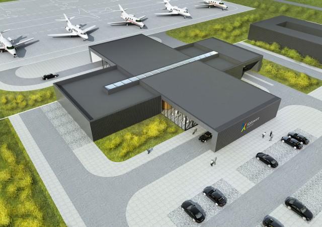 Nowy terminal dla VIPów na Katowice Airport