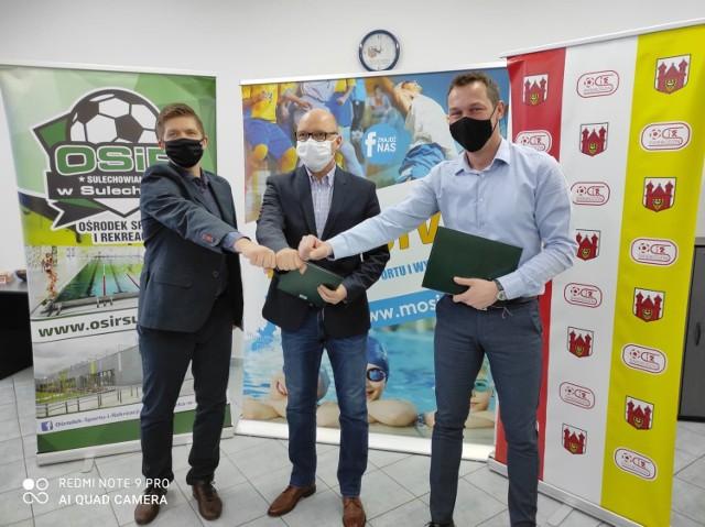 Dyrektorzy podpisali porozumienie, aby wspólnie działać na rzecz wzbogacenia, zróżnicowania i promocji oferty sportowej w czasie jak i po pandemii