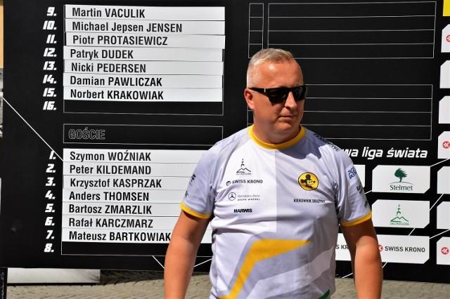 Tomasz Walczak, kierownik drużyny Stelmetu Falubazu Zielona Góra