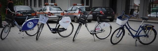 zaprezentowane cztery modele rowerów