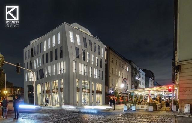 Tak ma wyglądać aparthotel na działce u zbiegu ulic Mariackiej i Francuskiej. Autorem projektu jest Wojciech Koziarski