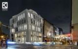 Niezwykły aparthotel na Mariackiej. Charakterystyczny budynek zaprojektował Wojciech Koziarski. Inwestorem jest TBS