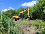 Rozpoczął się drugi etap budowy małej obwodnicy w Łęczycy ZDJĘCIA