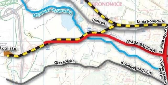 Krakow Nikt Nie Chce Wybudowac Trasy Balickiej Krakow Nasze Miasto