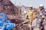 Klucze. Tragedia rodziny po pożarze domu. Lokalna społeczność pospieszyła jej z pomocą. Zobaczcie zdjęcia, jak wygląda po pożarze
