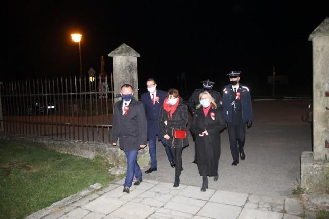 Uroczysta msza święta w intencji Ojczyzny zakończyła gminne obchody Święta Niepodległości w Sękowej