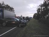 Nowe ustalenia Policji w sprawie zderzenia 5 pojazdów w Fabianowie - gmina nowe Skalmierzyce