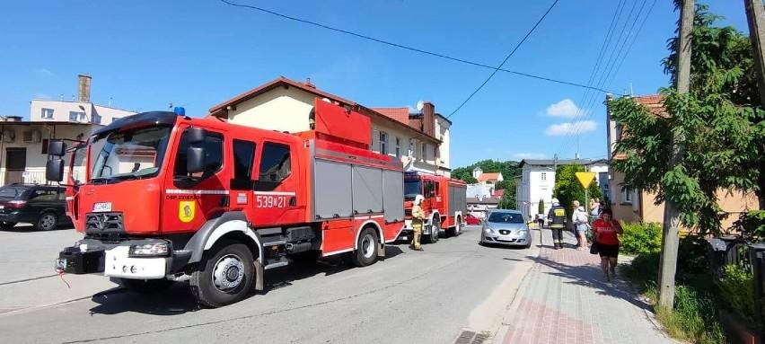 Pożar przewodu kominowego w Dzierzgoniu