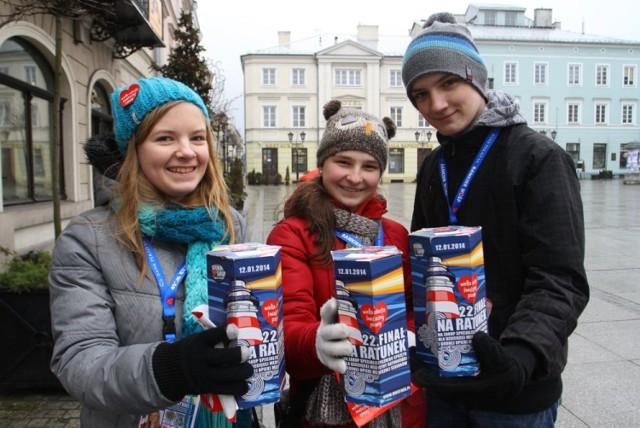 W styczniu 2014 roku na ulice Piotrkowa wyszło ponad pół tysiąca wolontariuszy