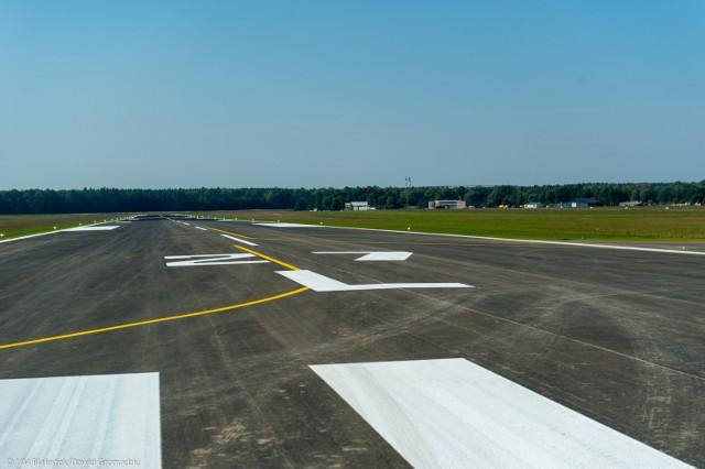 Budowa lotniska w Białymstoku. Pas startowy na Krywlanach już jest