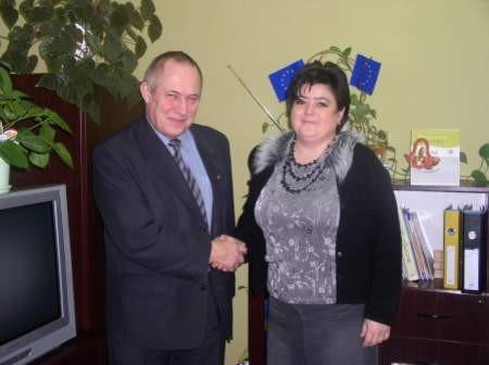 Joanna Główczewska przekazała już kierowanie Centrum Integracji Społecznej Jerzemu Barzowskiemu.