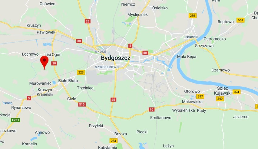 W miejscowości Drzewce w powiecie bydgoskim doszło do pożaru...