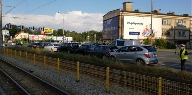 Do tego zdarzenia doszło na ulicy Fordońskiej w Bydgoszczy 17 sierpnia po godz. 17.30.  Więcej zdjęć >>>
