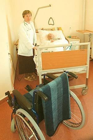 Hospicjum jest całym życiem pani Barbary.