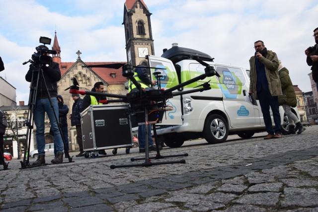 W ramach Ekopatrolu, stan czystości powietrza nad Tarnowskimi Górami, będzie badany za pomocą drona.