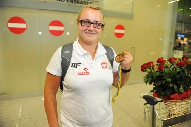 Joanna Fiodorow, zawodniczka AZS Poznań, brązowa medalistka z Zurychu, wróciła do kraju
