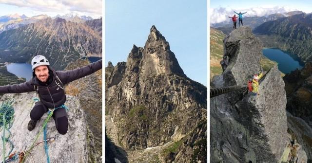 Kultowy wśród taterników Mnich jest jednym z najbardziej charakterystycznych szczytów w Tatrach. Nic dziwnego, że Instagramie ląduje mnóstwo zdjęć z tego szczytu.