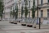 Katowice: Kiedy otwarcie ulicy Dworcowej? W lipcu wykonawca ma przekazać plac budowy. Deptak jest niemal gotowy