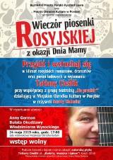 Dzień Matki w Porębie. Koncert piosenki rosyjskiej
