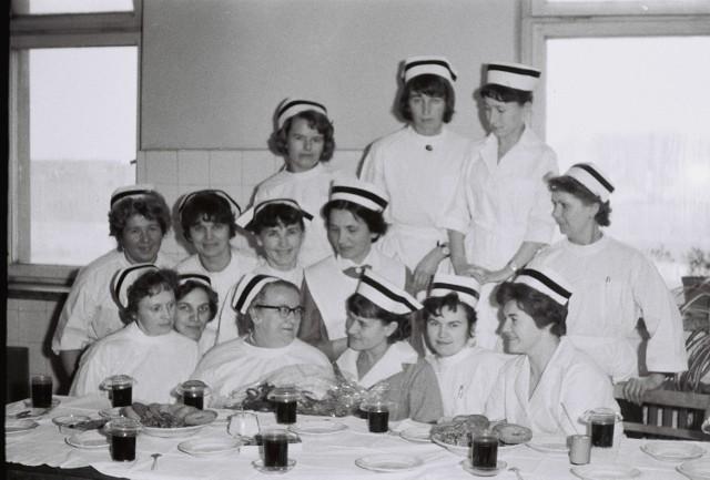 Sieradzkie pielęgniarki sprzed ponad pół wieku