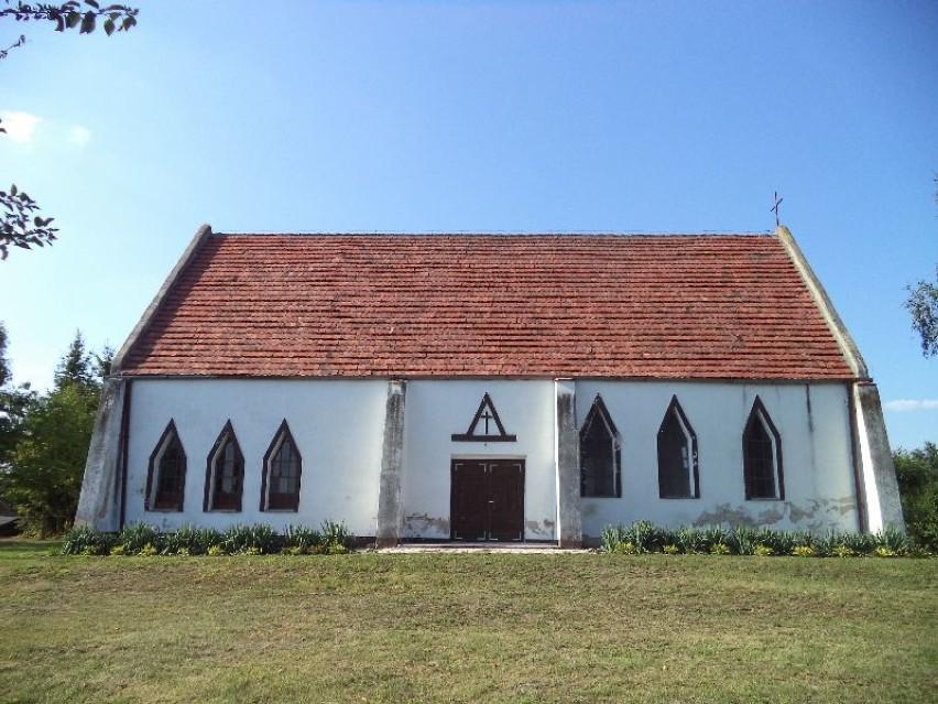 Dziś kościół w Gostchorzu wygląda tak.