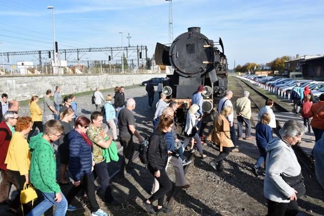 Spacer Historyczny, tym razem śladami dawnej kolei w Legnicy.