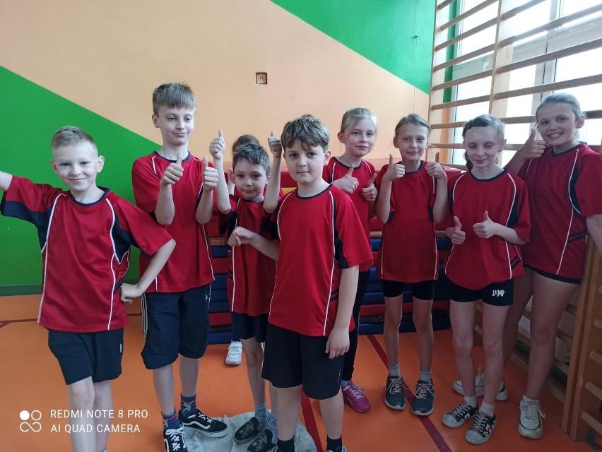 Drużyna ze Szkoły Podstawowej w Konopnicy zajęła 2.miejsce