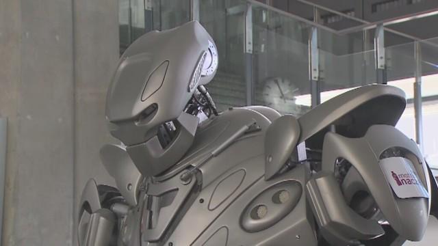 Titan Robot na Dworcu Centralnym