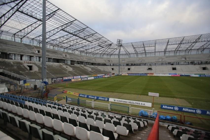 Budowa stadionu Górnika Zabrze wstrzymana
