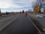 Utrudnienia na trasie Opole-Nysa. Na drodze krajowej nr 46 w Sosnówce zapadła się jezdnia