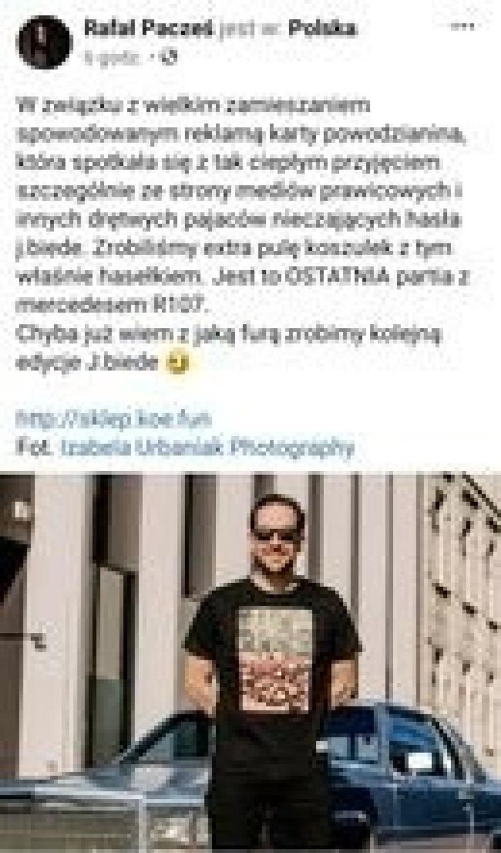 """Jak się okazuje, prezydent Zdanowska, jest """"drętwym..."""