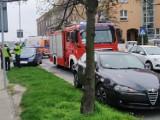 Gniezno. Wypadek na ulicy Żwirki i Wigury. Jedna osoba jest ranna