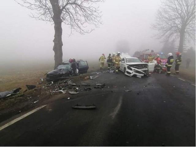 Do wypadku doszło w miejscowości Krzewata