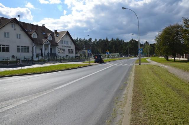 Odcinkowy pomiar prędkości zostanie zainstalowany od Zajazdu Sezam na długości 6,5 kilometra