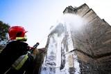 Świdnica: Pożar w katedrze (zobacz zdjęcia)