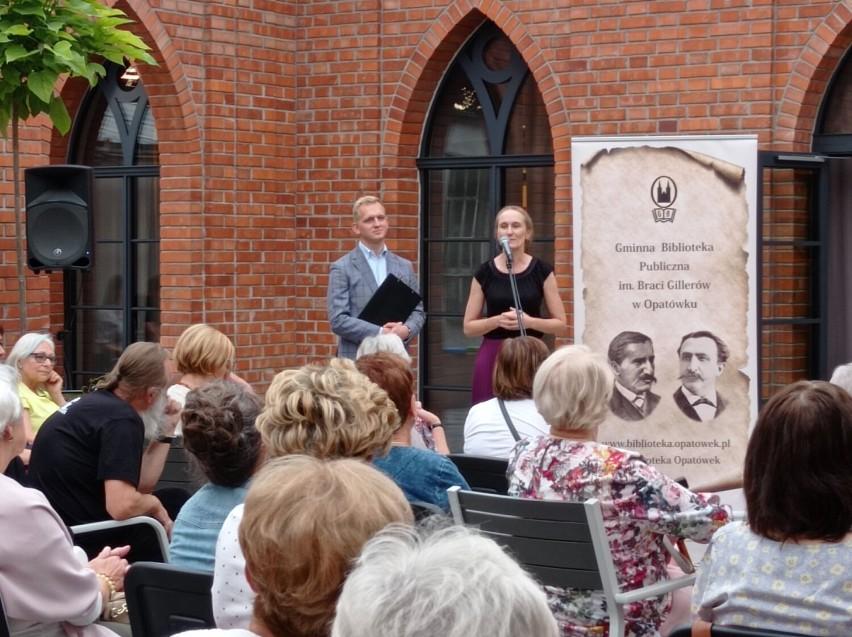 Koncert pieśni i arii operetkowych w Cukierence w Opatówku