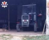 Tragiczny finał prac przy ciągniku w powiecie janowskim. Nie żyje 44-latek
