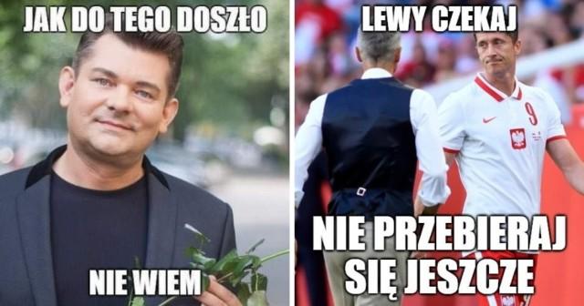 Polska wysoko wygrała z San Marino 7:1 w meczu eliminacji mistrzostw świata.   Gol stracony przez Biało-Czerwonych w spotkaniu z amatorami wywołał śmiech internautów, bo kadrze Paulo Sousy bramkę strzela praktycznie każdy.   Zobaczcie piłkarskie memy po meczu San Marino - Polska >>>