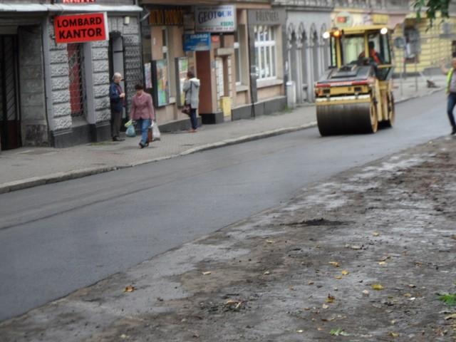 Trwa remont ul. Sobieskiego w Chorzowie